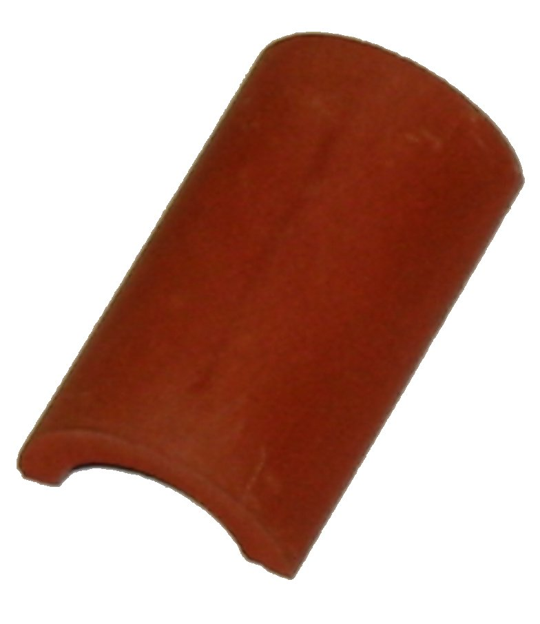 "Half Round Ridge Tile - Traditional 1.25"" - 1/12th Scale - Dolls House"
