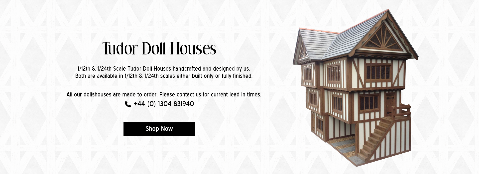 Tudor Doll Houses Banner